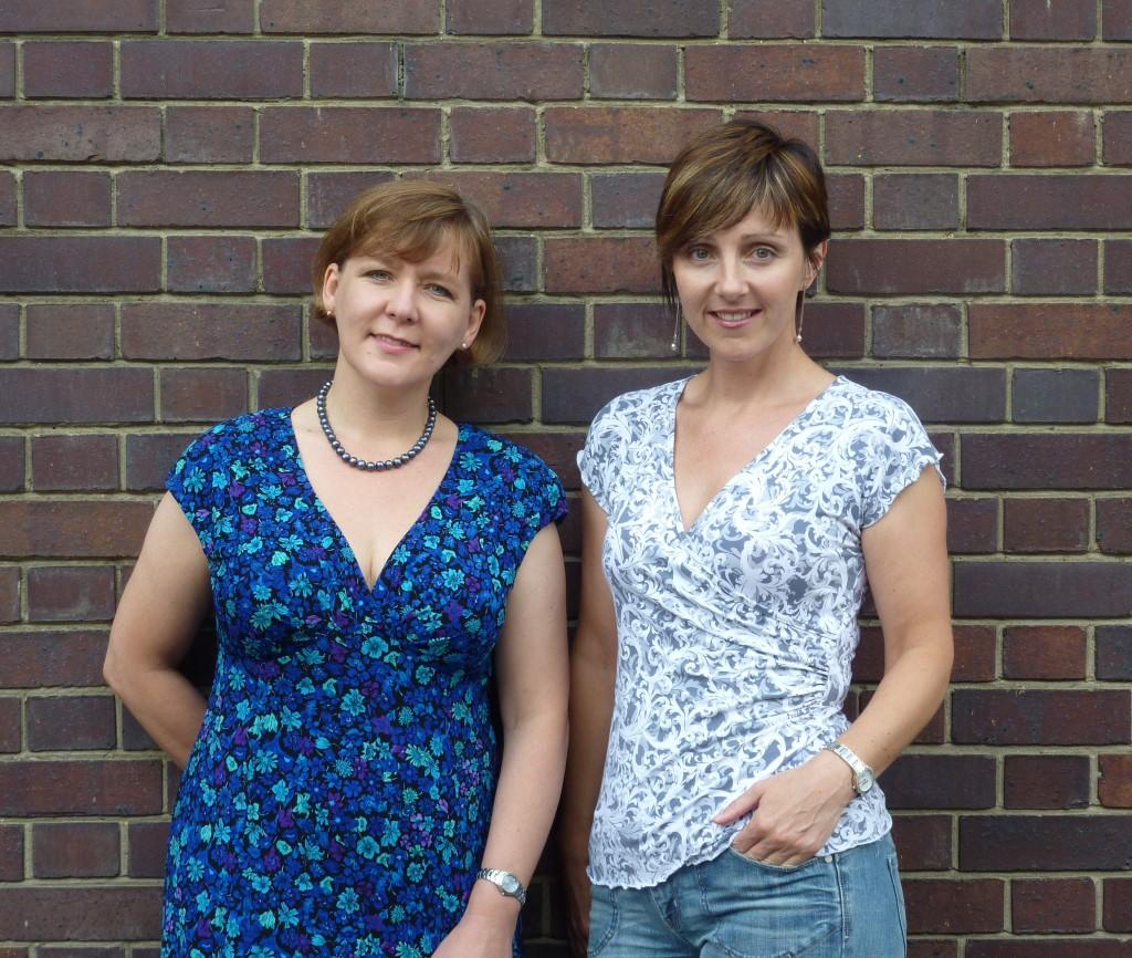 Heather and Micaela
