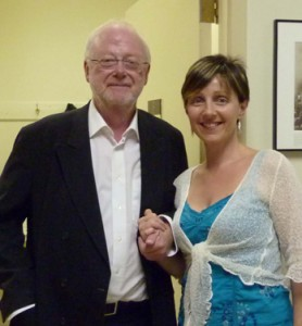 Micaela with Louis Andriessen