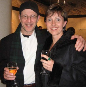 Micaela with Steve Reich